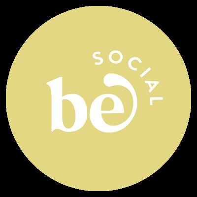 Be Social - A service by Modern Social Logo